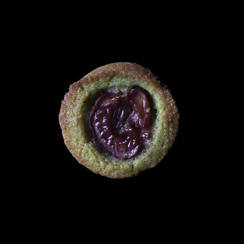 Financier (Pistachio Almond Cake)