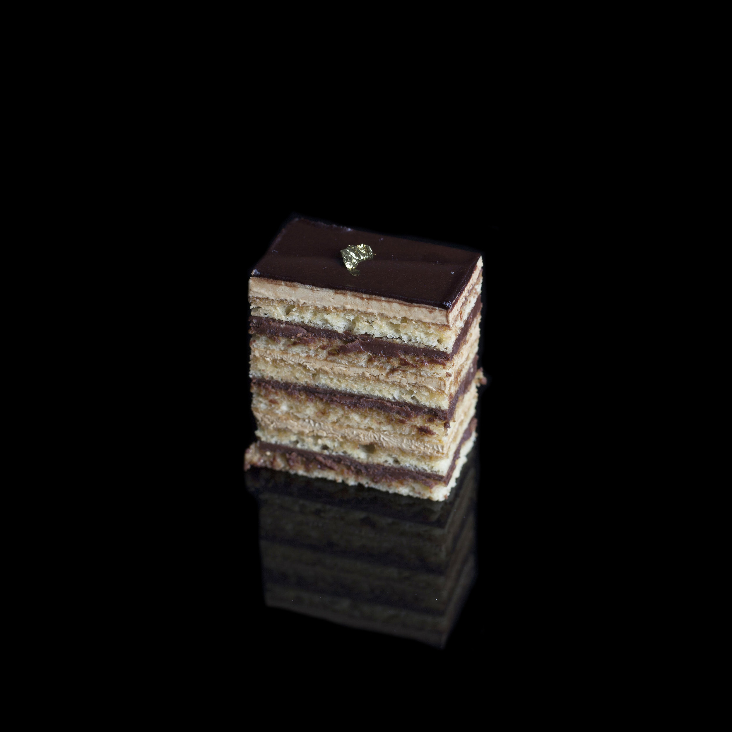 Opera Cake (Chocolate & Coffee)
