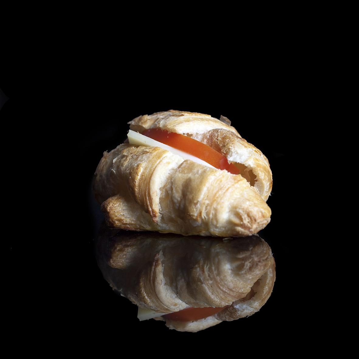 Mini Tomato & Cheese Croissant ($4)