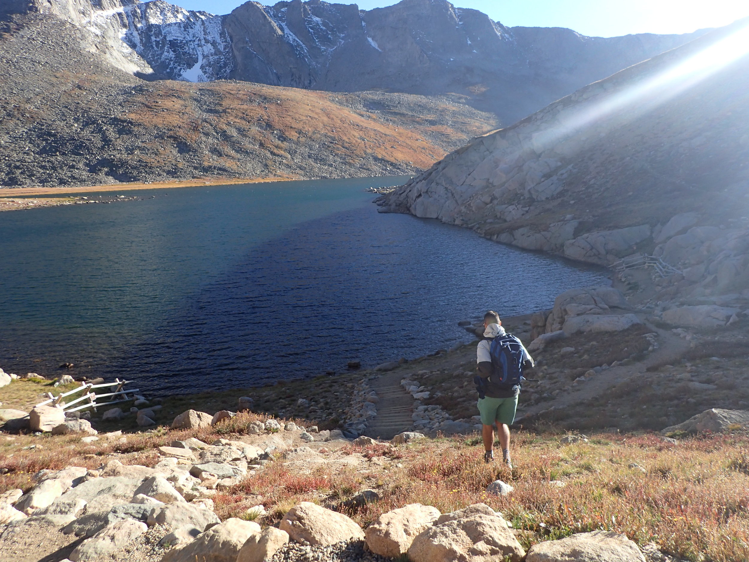 Hiking My First Fourteener in Colorado -