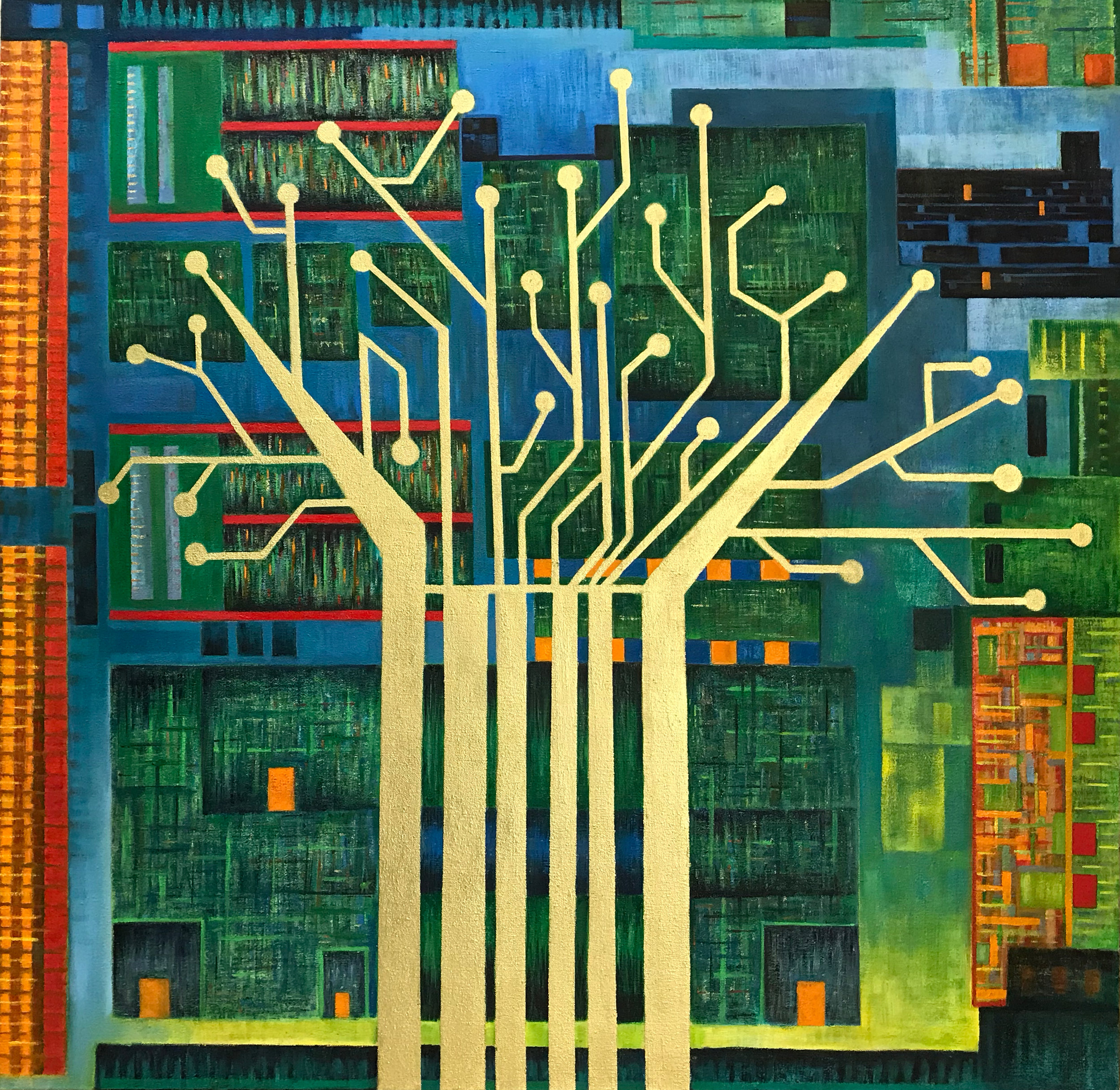Tree of Life no.2 (Silicon)