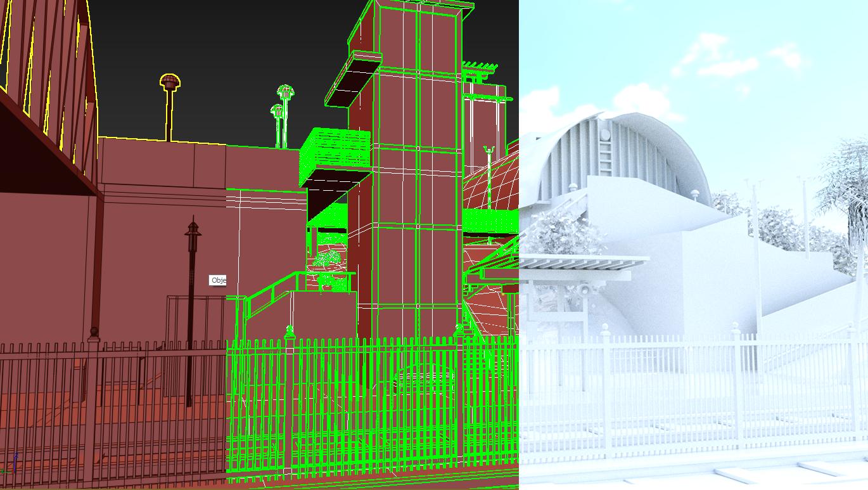 Solana Station Poly/UVs/Lighting