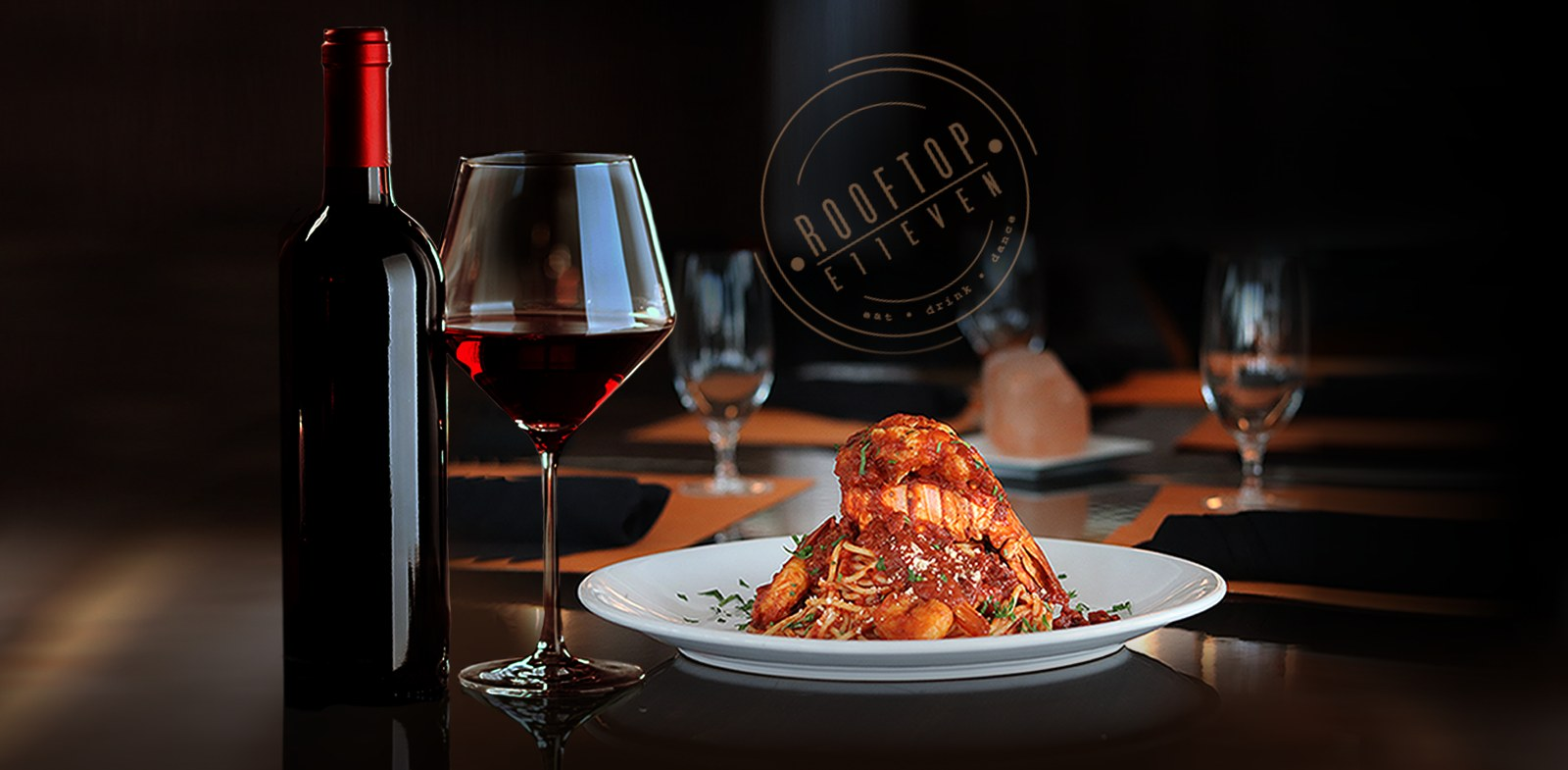 Get a Complimentary Glass of Wine on Wednesdays    Menu & Reservations