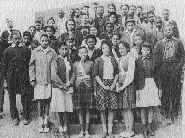 #MomentsinAffrilachianHistory Photo from VT Special Collections  Pictured here  is the 1942 Junior Class of the Christiansburg Institute.  The Christiansburg Institute  was one of the first schools to educate emancipated slaves in Southwest VA. The institute later became a prominent boarding school  for African Americans who traveled to receive training in various trades and skills.