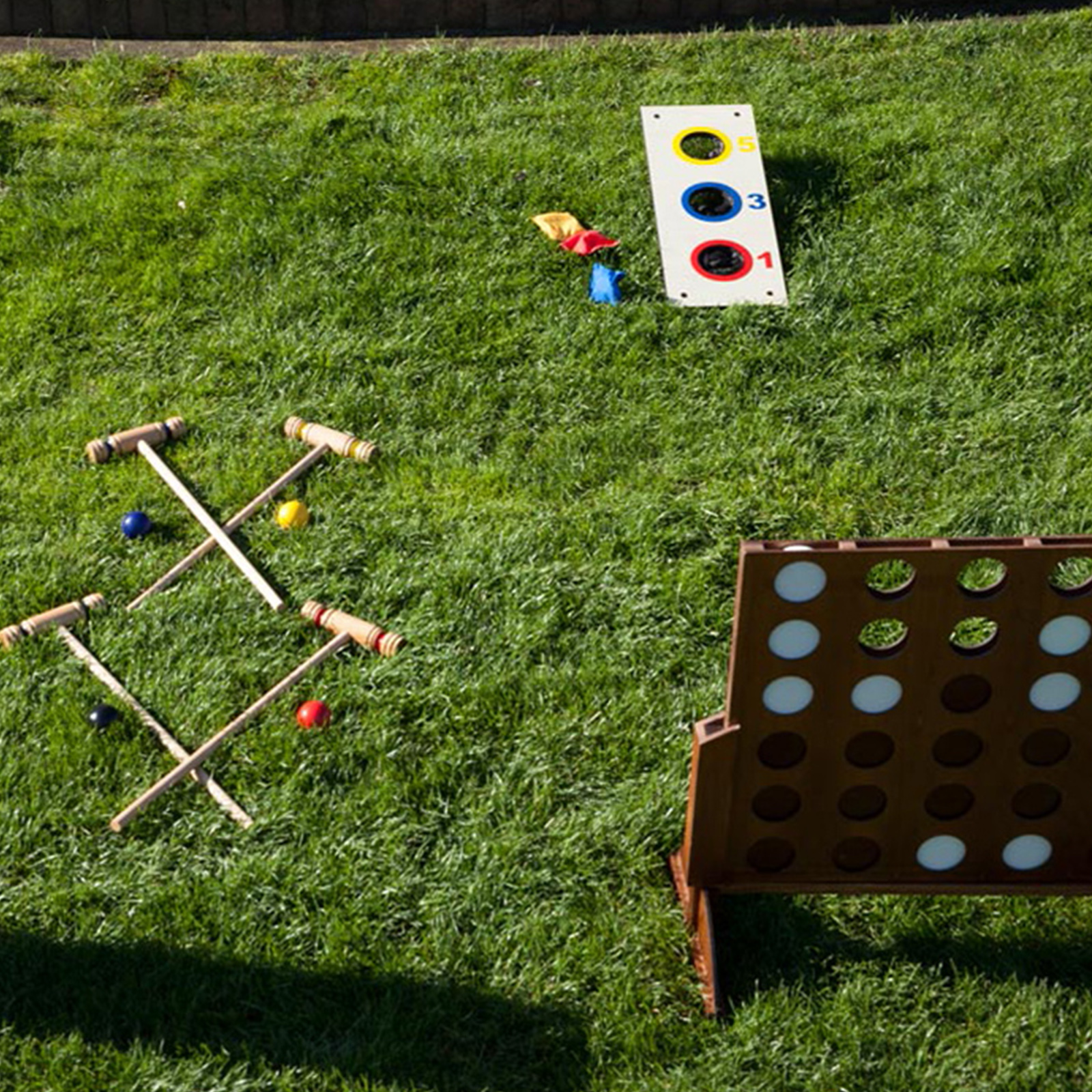 VINTAGE GARDEN GAMES   Our range of classical outdoor games for hire are perfect entertainment for your wedding guests. With a stylish wooden finish these high quality games will look great in the garden area of your venue and provide great entertainment for your guests.   www.vgg.co.nz