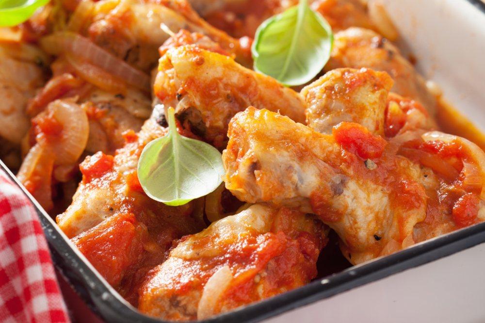 Hoss's Chicken Cacciatore -