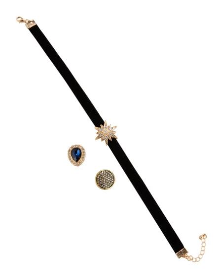 3-in-1 Interchangeable Velvet Choker