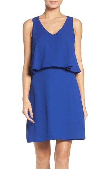 Charles Henry Popover A-Line Dress