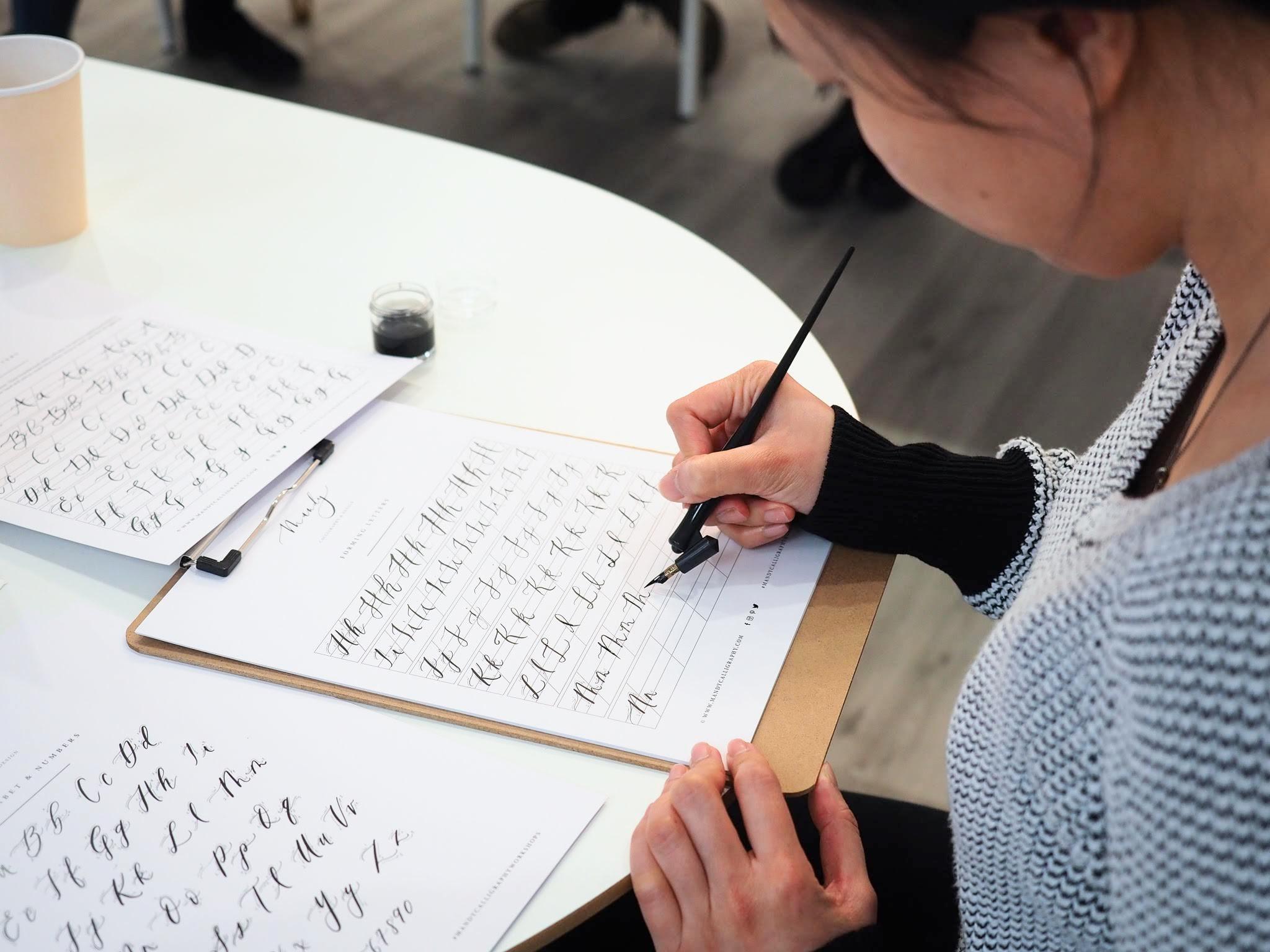 mandy-calligraphy-workshop