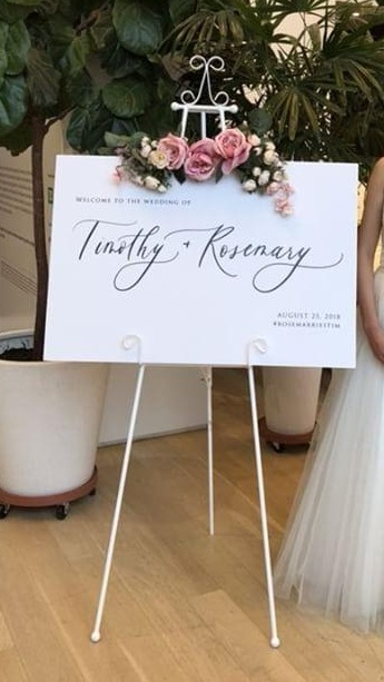 mandycalligraphy-welcomesign