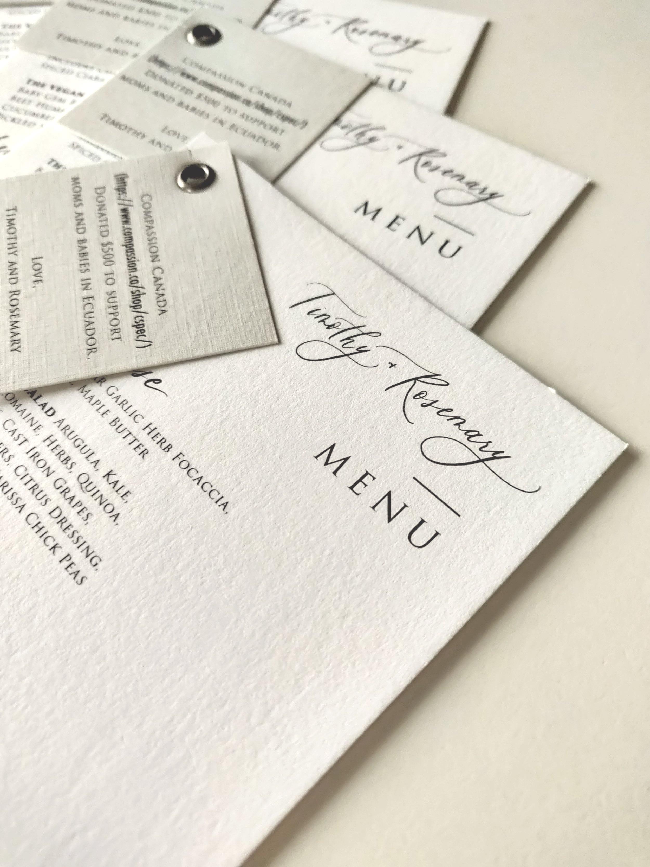 Menus with Detail Card Element
