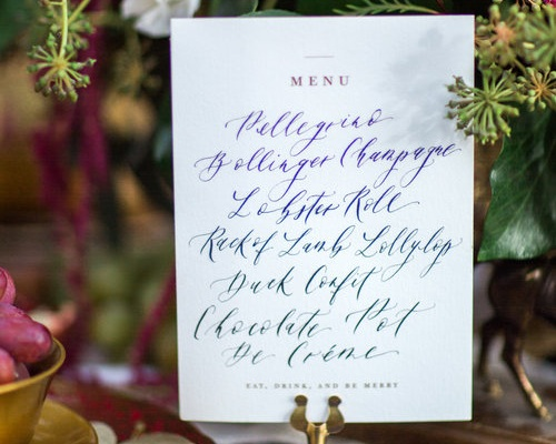 Cotton Paper with Full Calligraphy Script & Complementing Fonts
