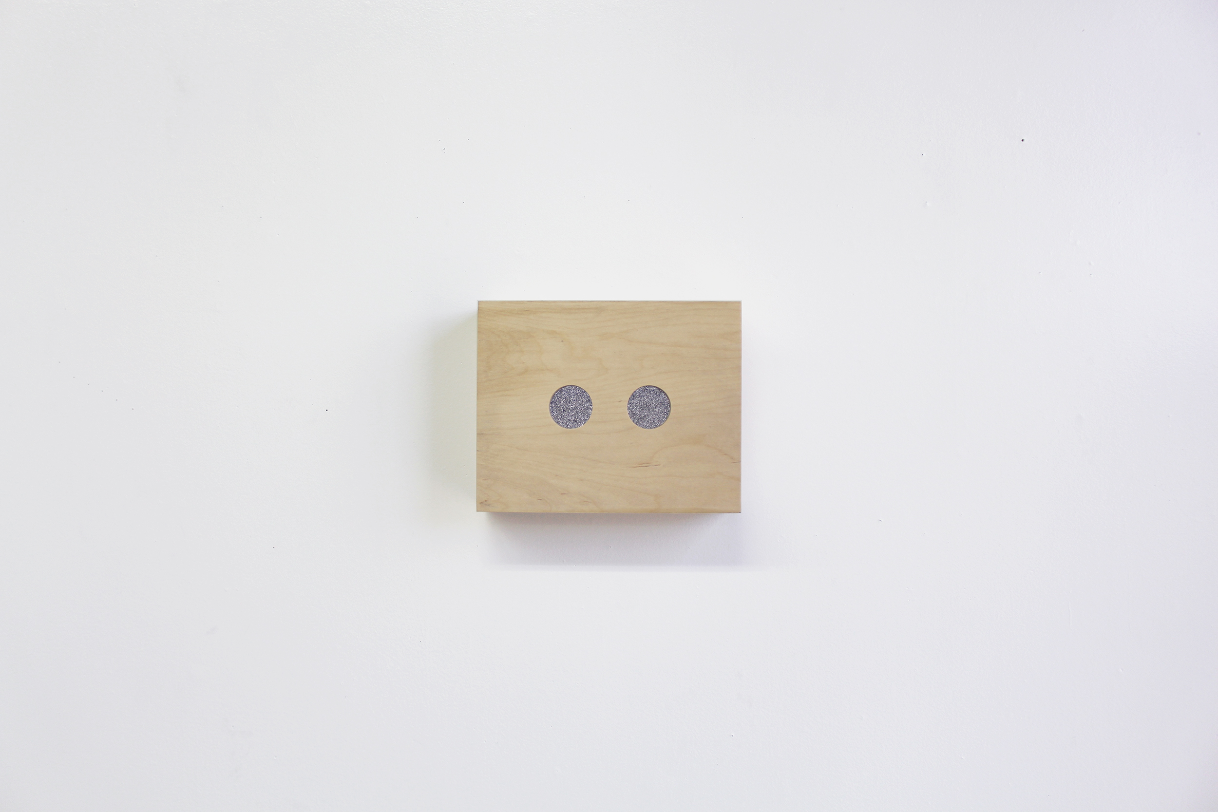 Birch plywood, single-channel video loop