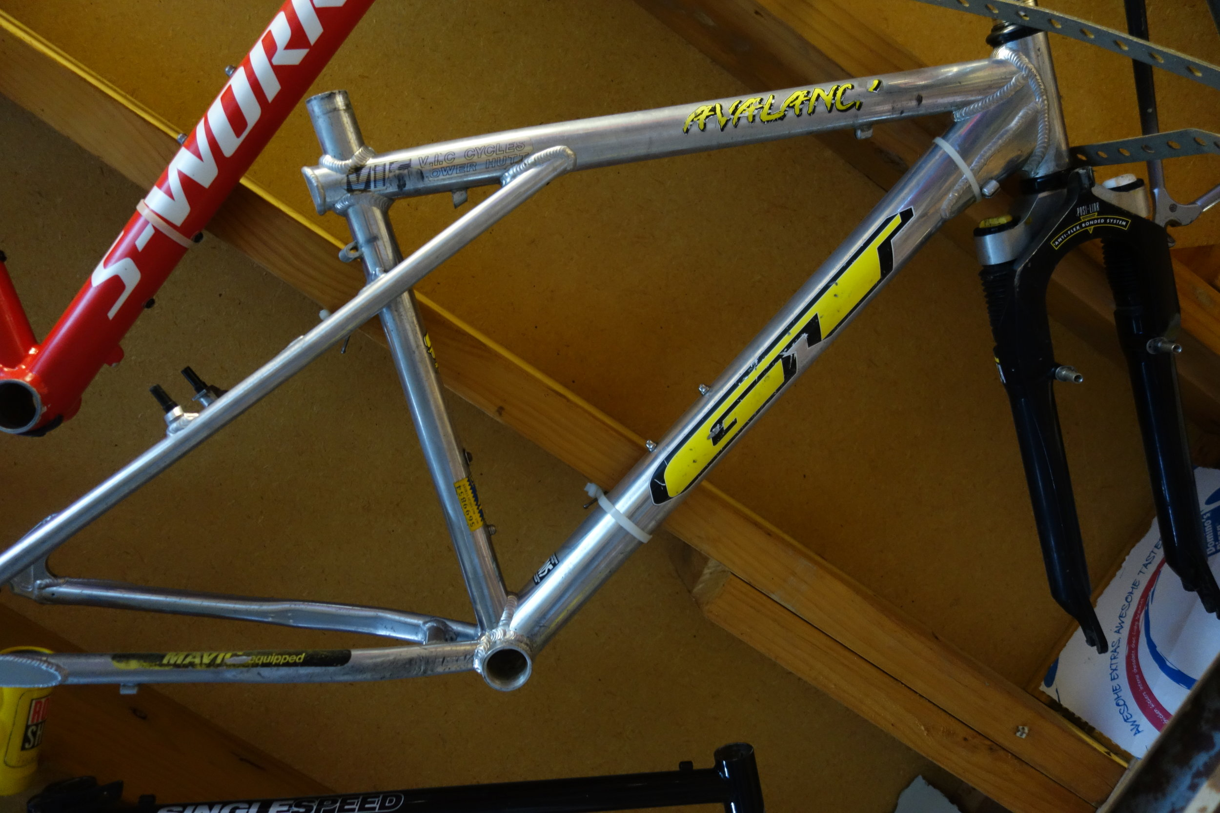 GT bikes dominated the 90's. We all lusted after them.