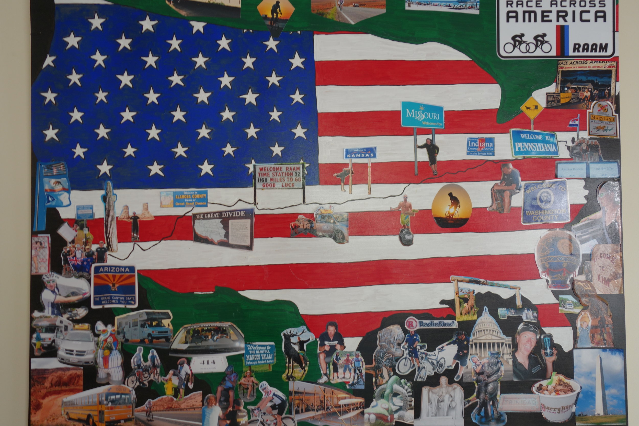 USA roadtrip collage. My wife wants me to burn my old photos, something to do with the kids getting the wrong idea?