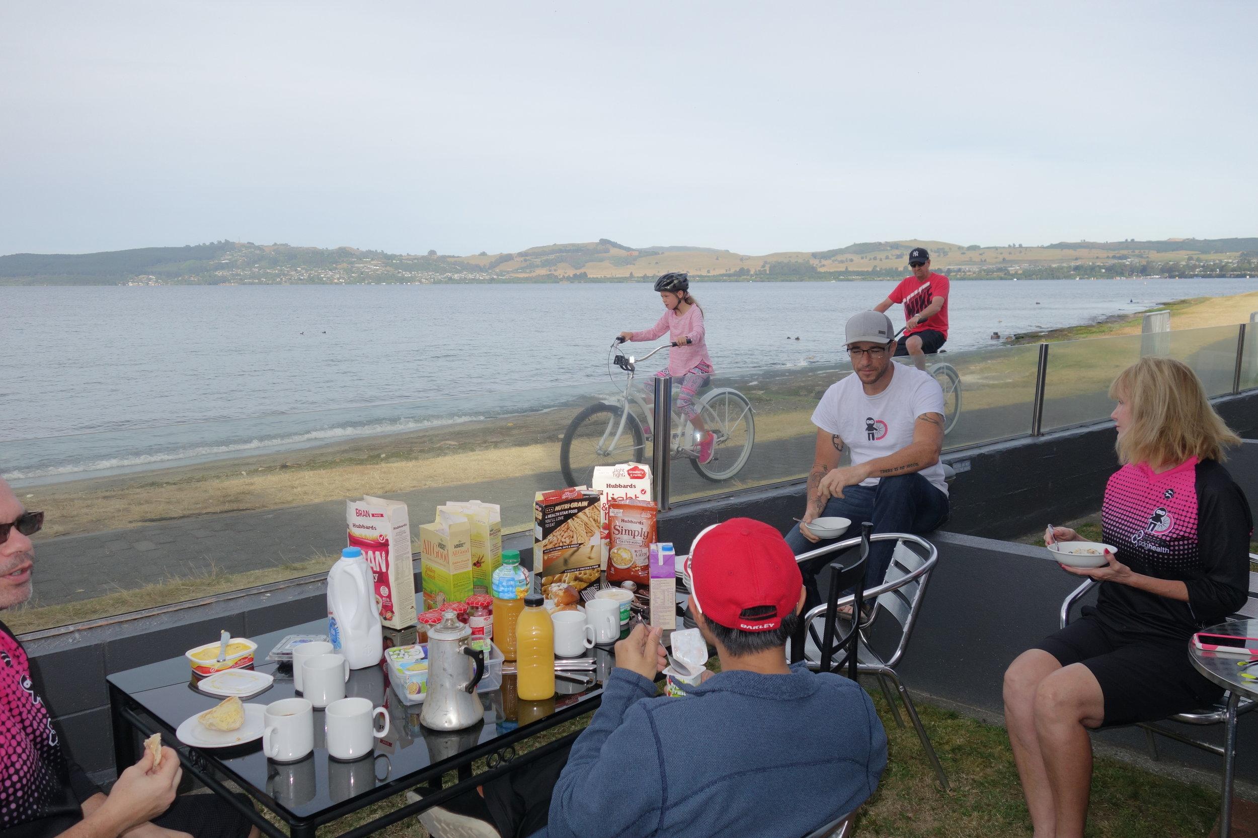 Breakfast on the beach followed by a spot of helibiking anyone?
