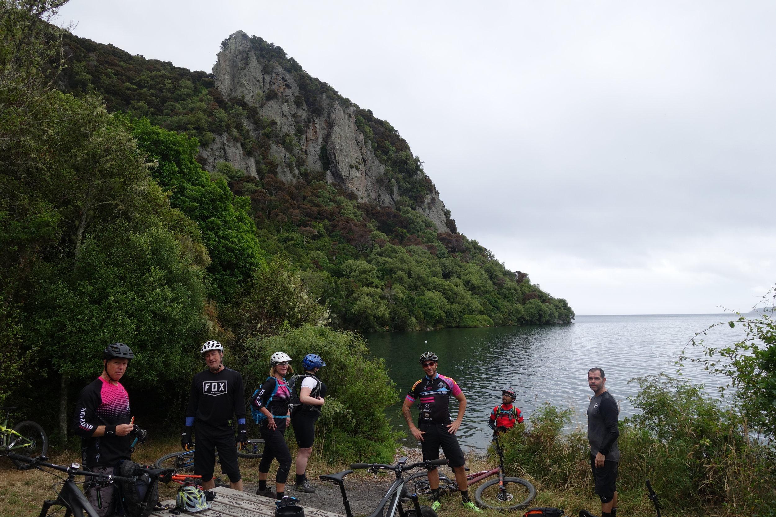 Perfect riding weather and a perfect last ride. Kawakawa bay.