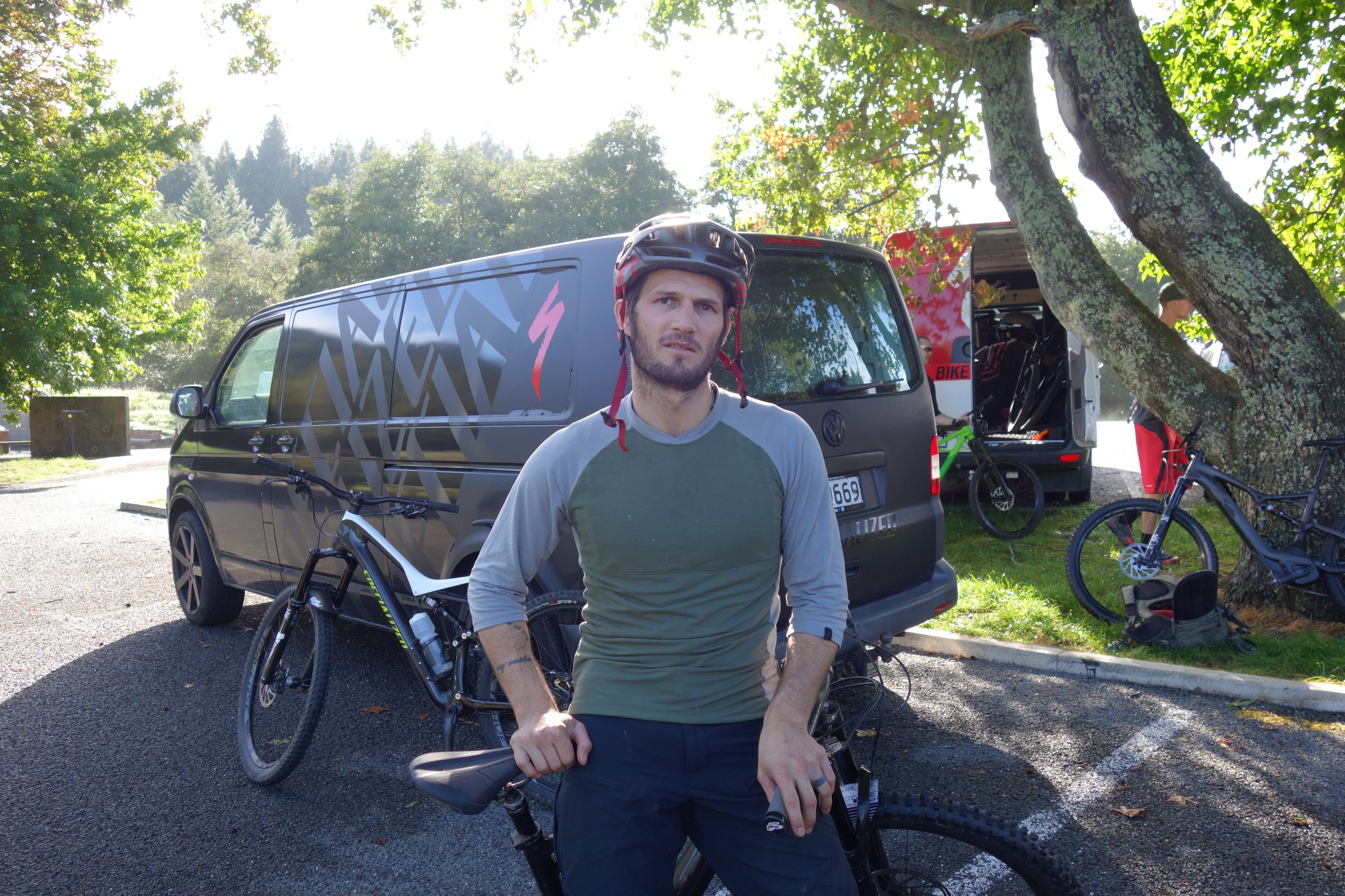 Fanie Kok the King of Stoke travels the world with Specialized getting people out on the trails with tools as well as bikes.