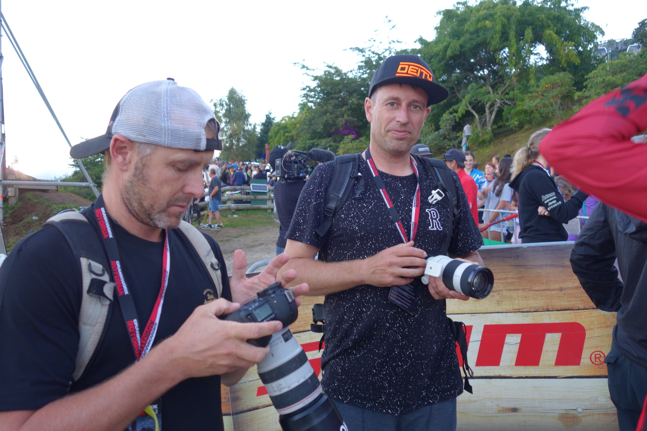 Neil Kerr from Spoke and Jeff Carter from therodfather.co.nz