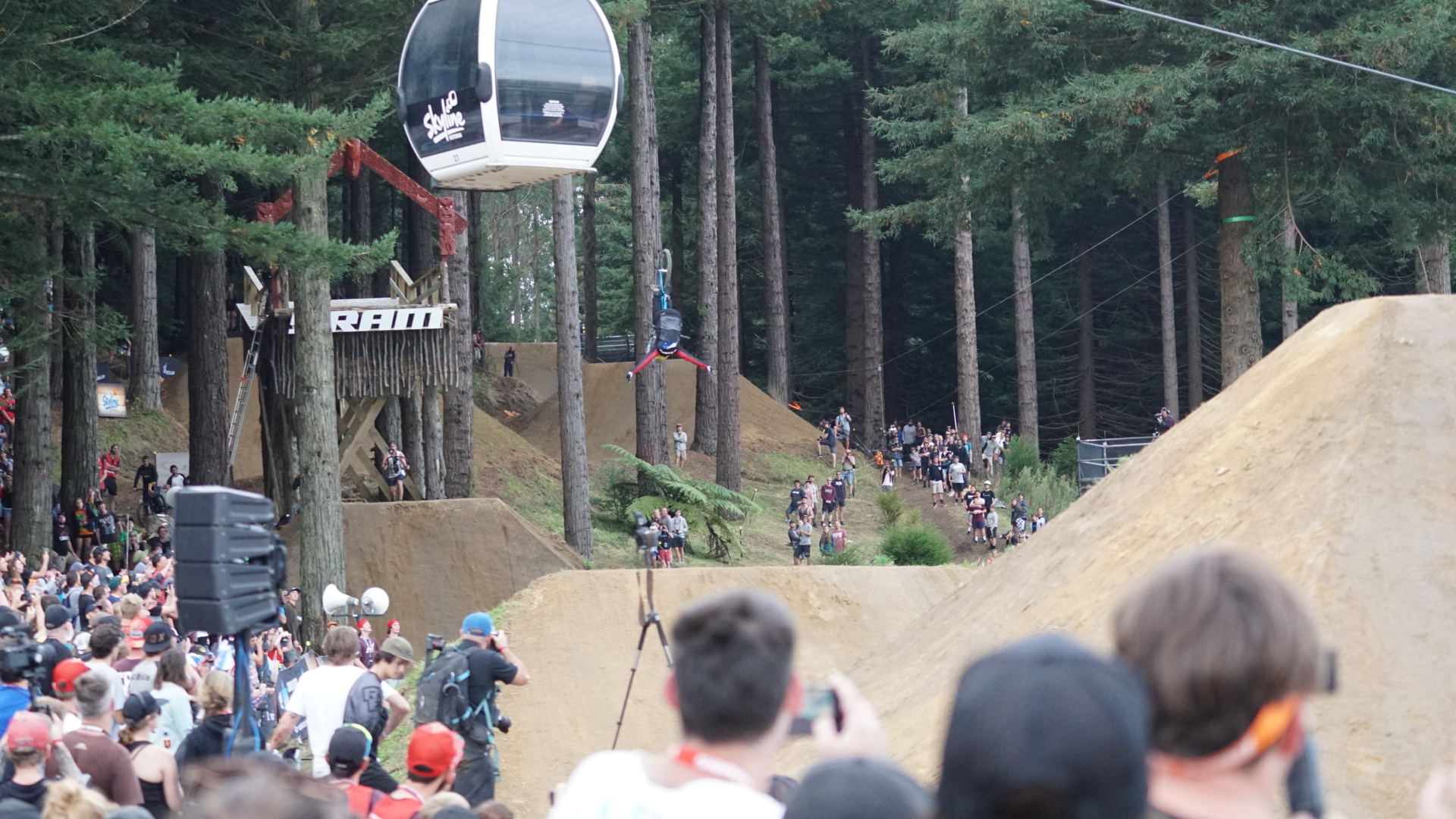 Big assed jumps requiring big assed tricks. photo: Jeff Carter