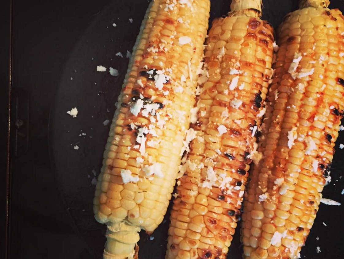 Mexican Street Corn //   Chipotle Tomato Butter  + Corn + Crumbled Queso Fresca