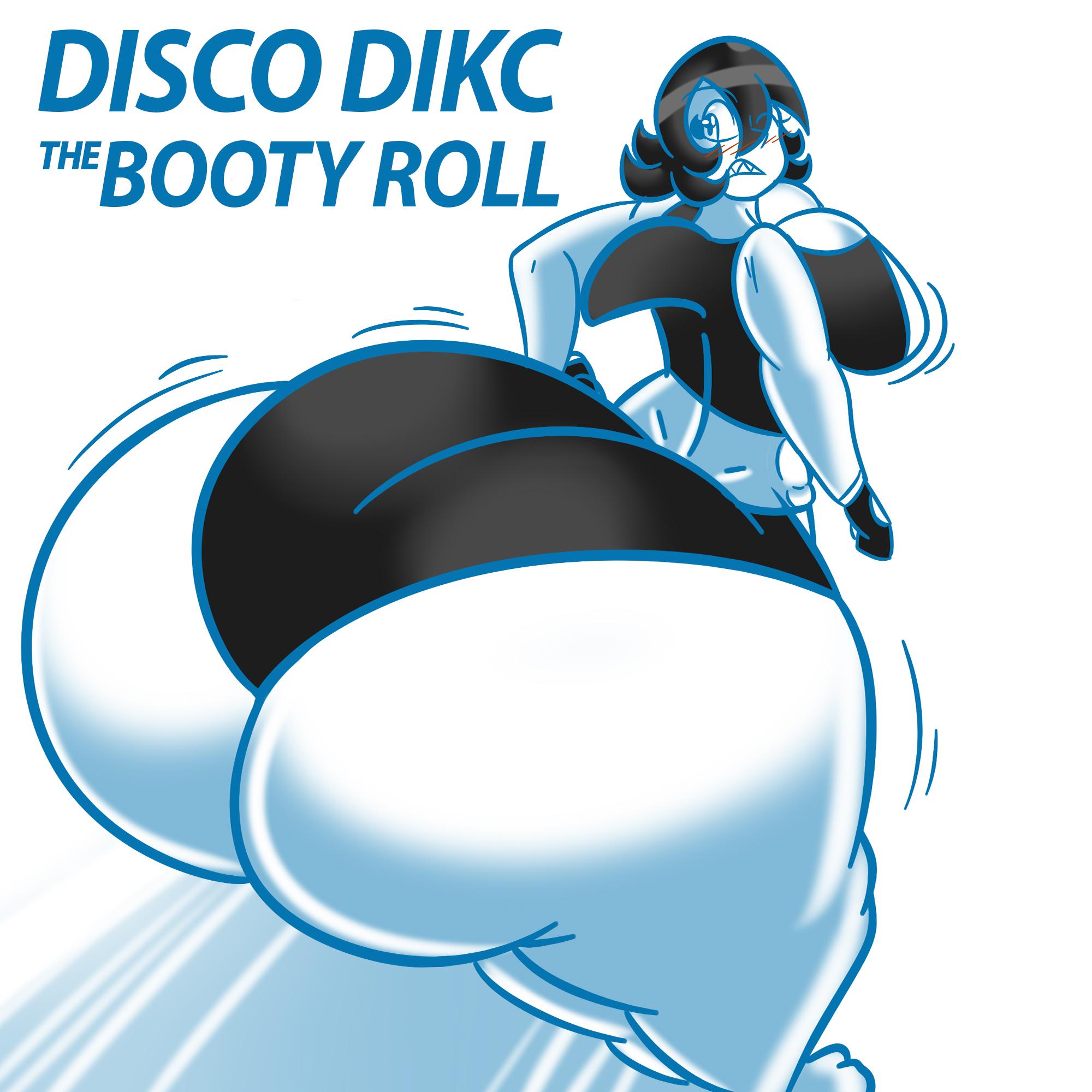 [OFDM019] DISCO DIKC - The Booty Roll.jpg