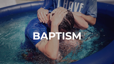 Baptism declares to the world you've trusted Jesus, joined God's family, and made a commitment to follow Jesus.
