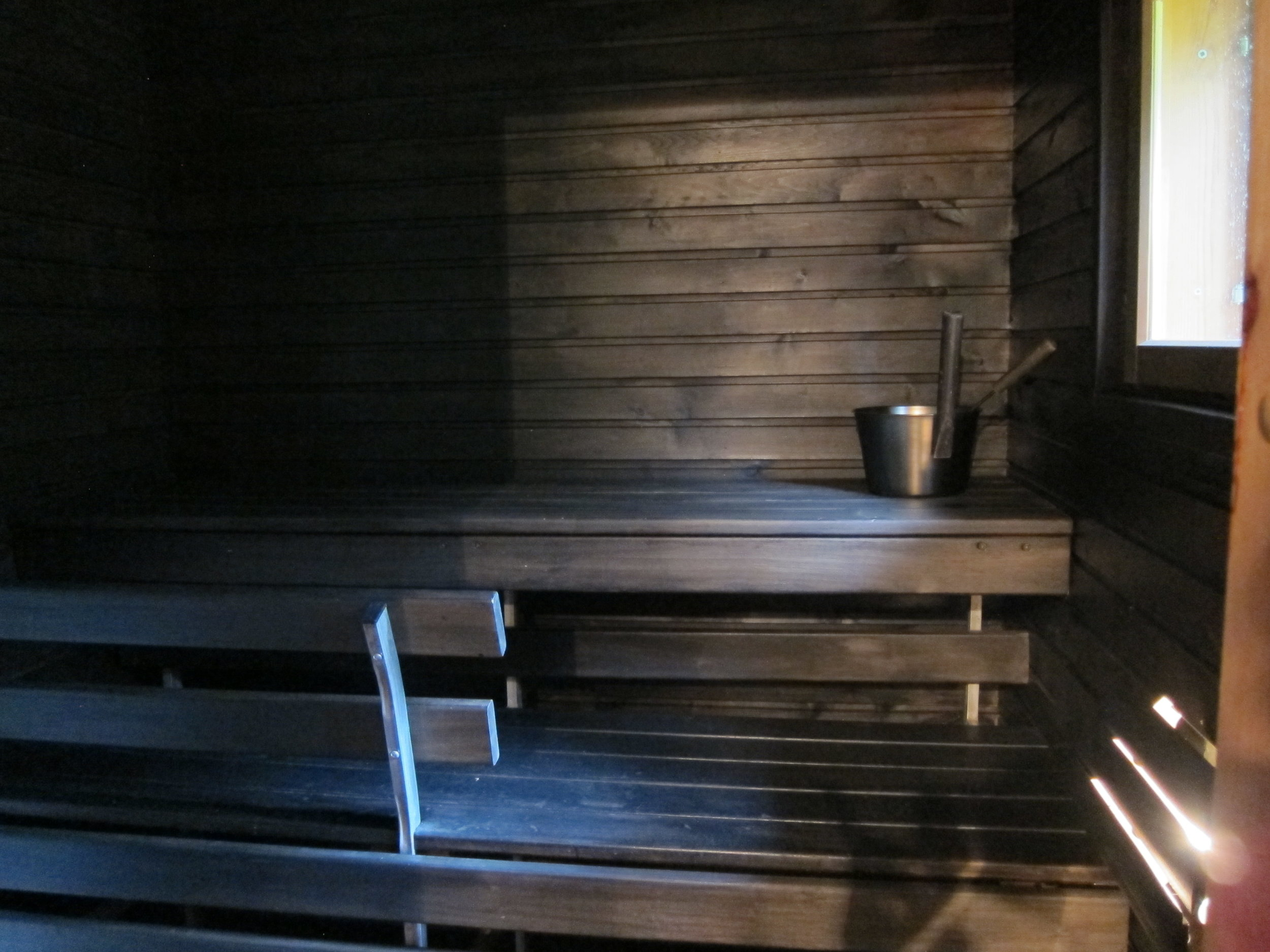 .. joten lämmitä sauna silloin, kun sinulle sopii..