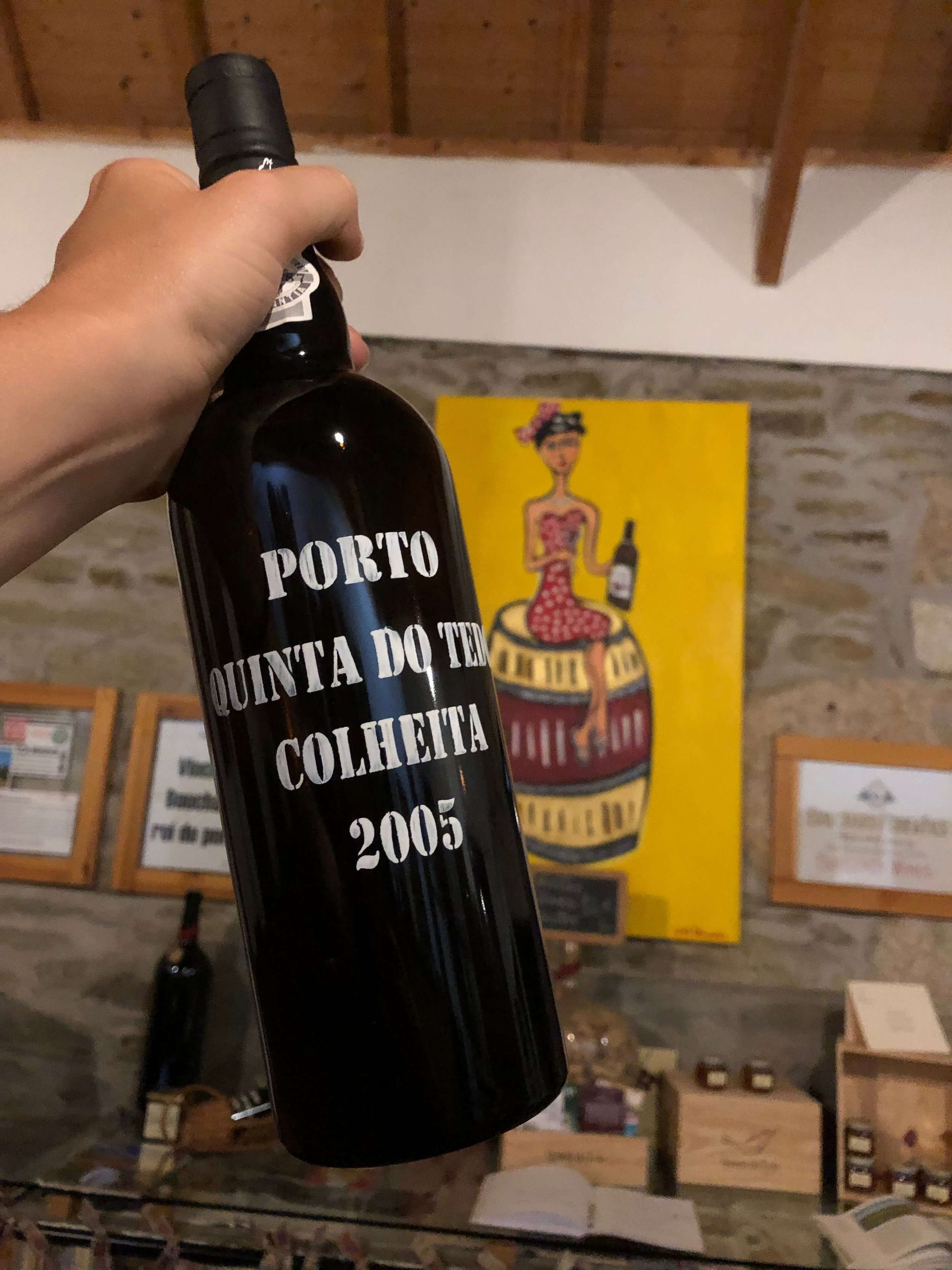 Our first  Colheita  - an aged Tawny  Port  made with grapes from a single vintage. ...a rare pleasure!