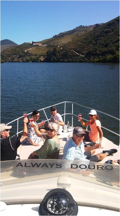 Tedo teams up with  Always Douro  for weekly sunset cruises on the Douro, Porto Rosé cocktail in hand!