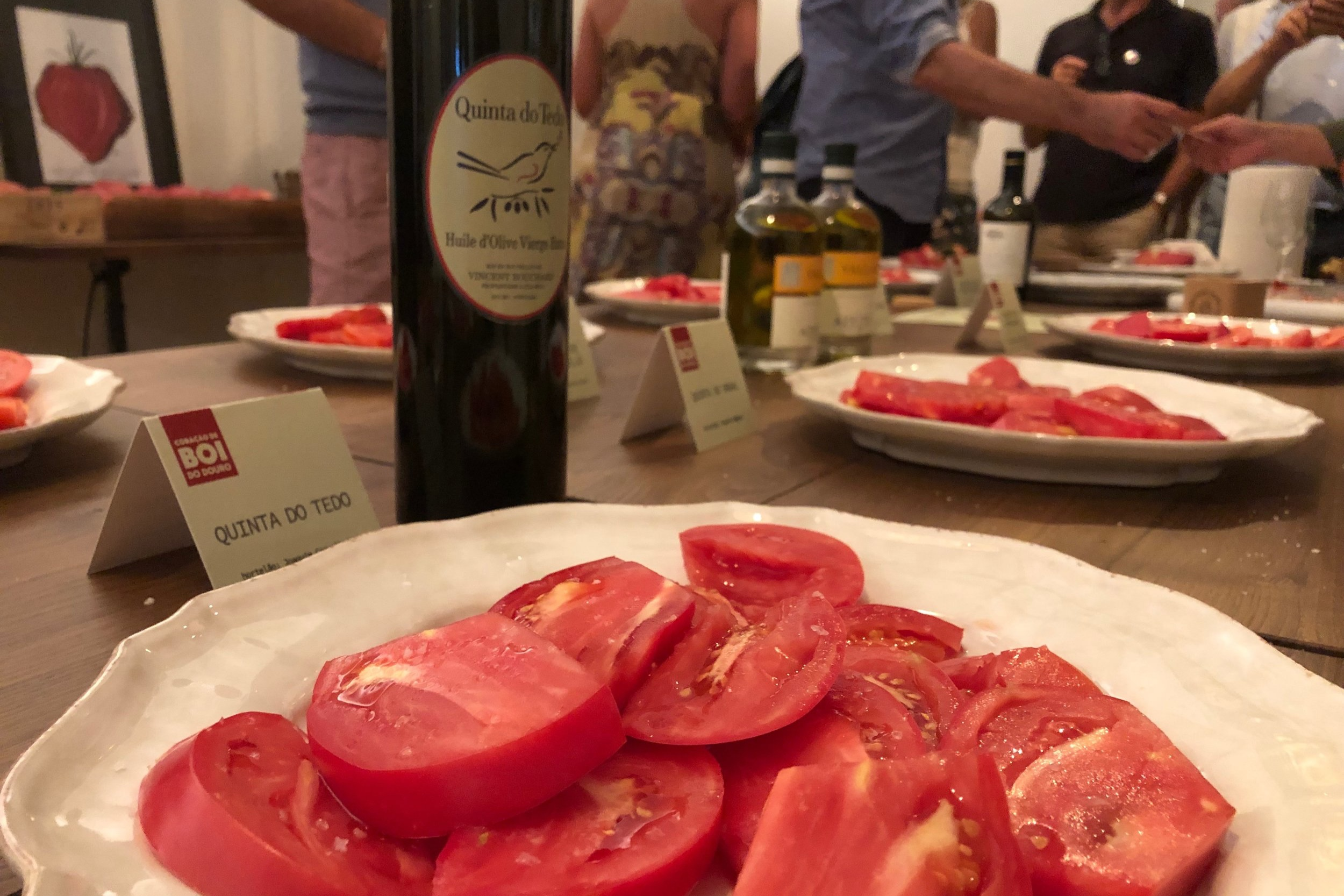 Entry at annua l Beefsteak Tomato Competition at Quinta do Ventozelo  - a seriously delicious event.