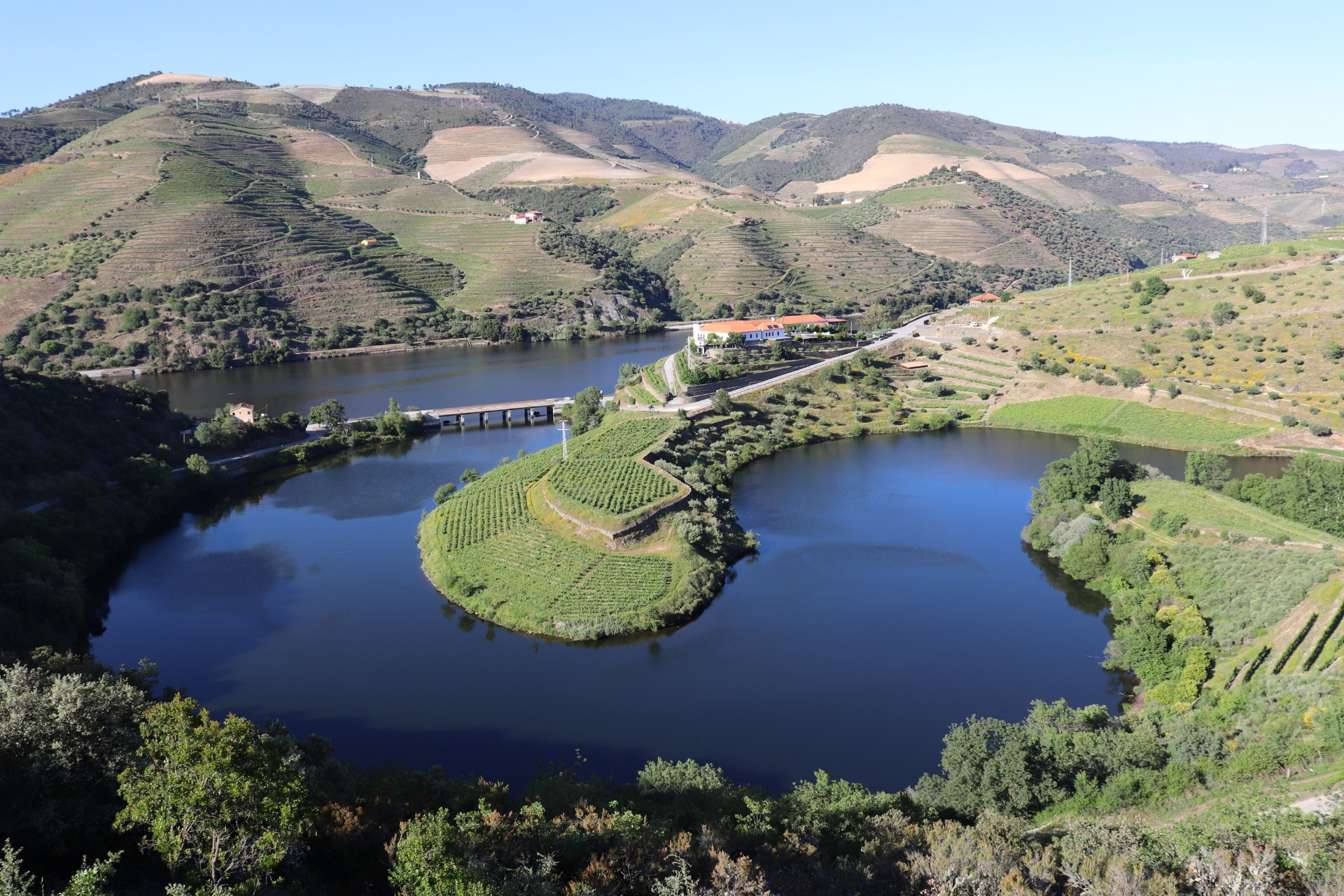 The Tedo and Douro rivers – what splendid weather!