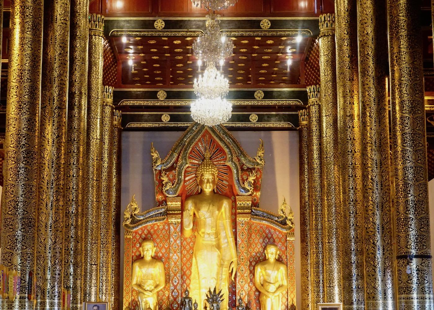 Wat Phan Tao, Wat Chedi Luang