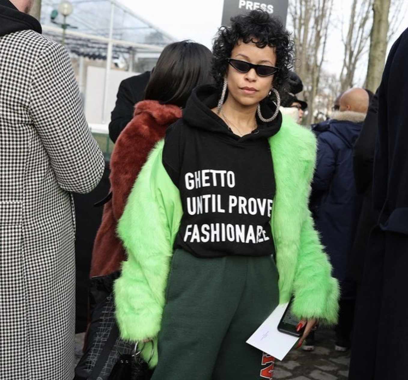How 'Ghetto Until Proven Fashionable' Shirt Designer Nareasha Willis Fights Cultural Appropriation