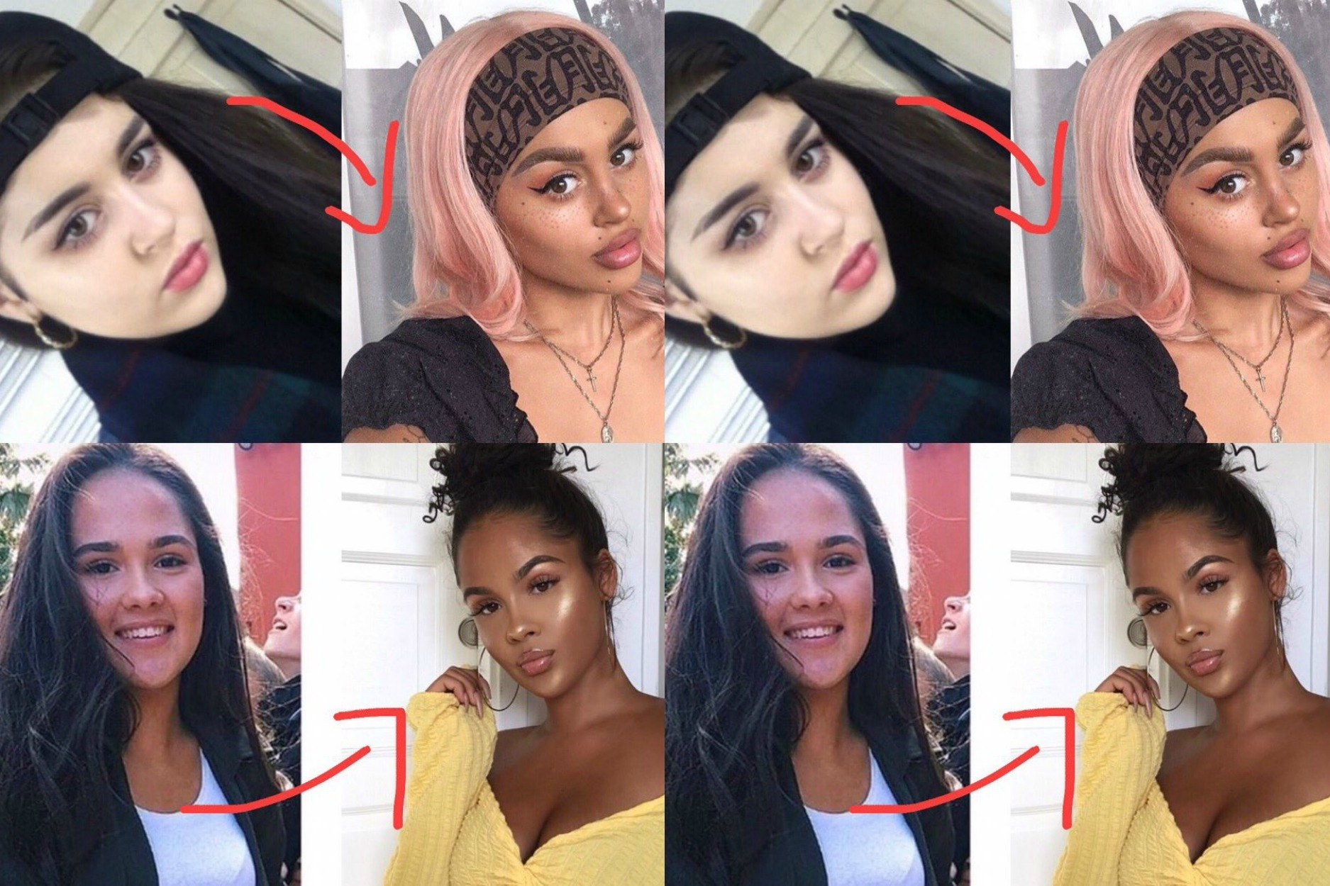 """Some White Influencers Are Being Accused of """"Blackfishing,"""" or Using Makeup to Appear Black"""