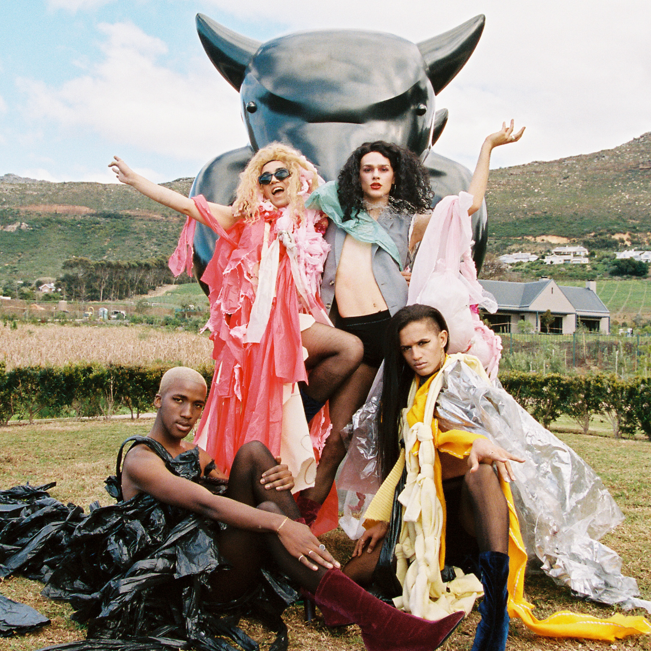 Queezy Captures Cape Town's Vogueing Scene With 'Historical Glitch'