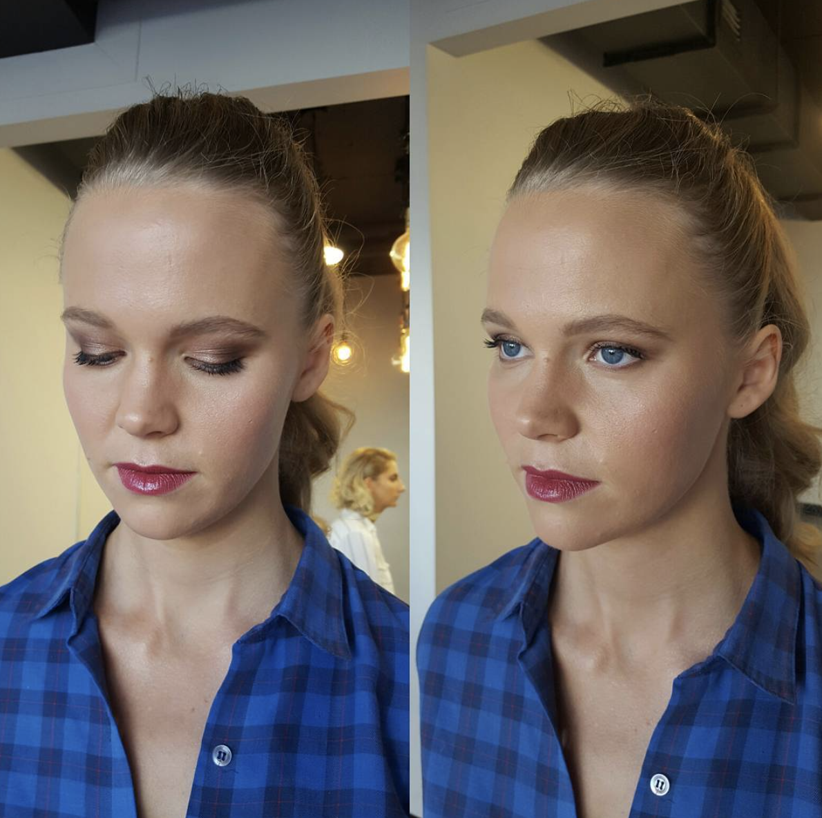 Natural wedding makeup by Katie Saarikko.