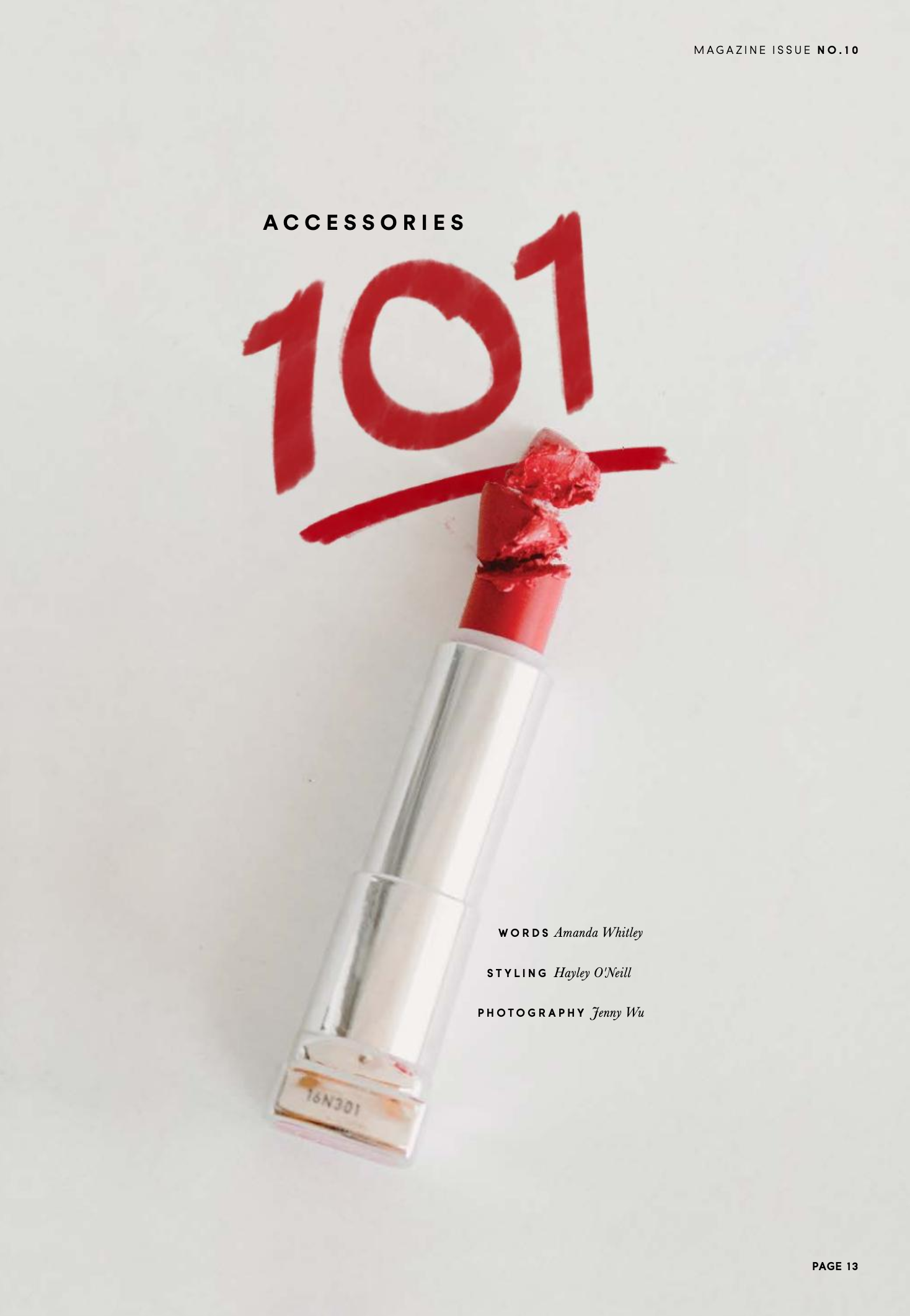 HerCanberra Magazine - Accessories 101 - makeup by Katie Saarikko