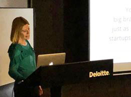 Simone sharing her Personal Branding strategies at Deloitte for AIPFE Cyprus – Women Of Europe.