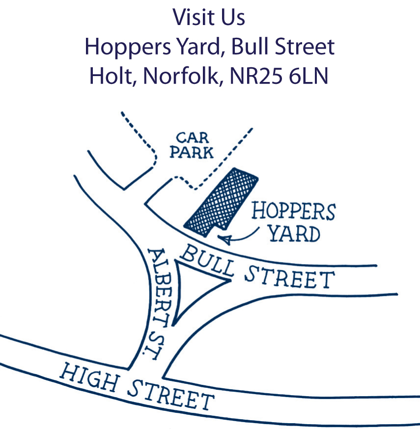 Escape the stresses of everyday life and be enchanted by the 'must visit' destination in Holt. You can browse in its exciting mix of shops the take tea in the Folly Tearoom or its garden where vintage romance will surround you.