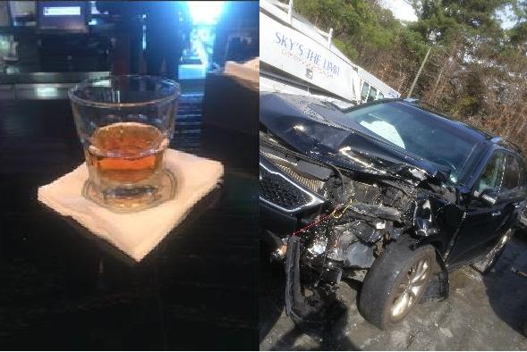 High Impact DUI wreck w injuries