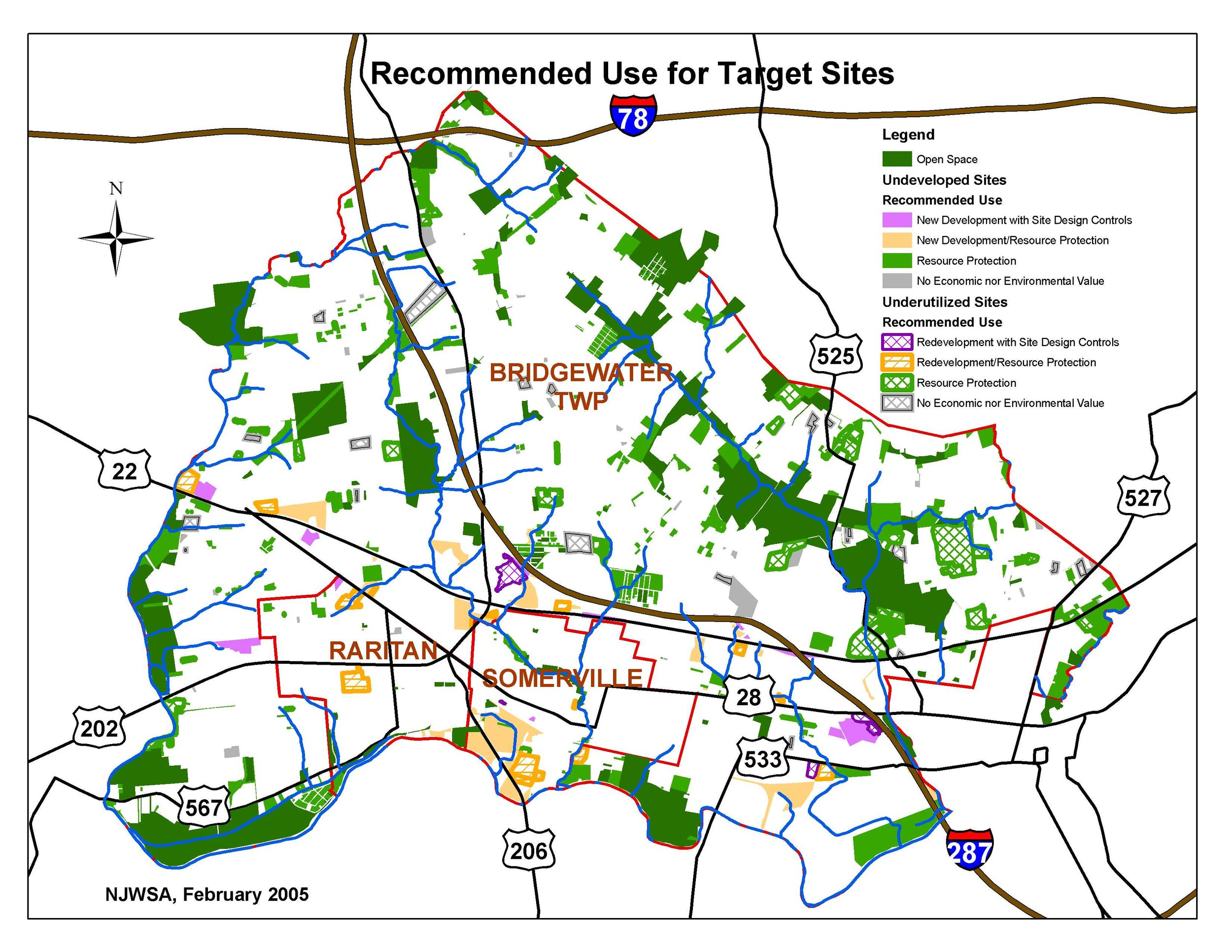 Opportunities for Watershed Protection and Economic Growth in New Jersey's Urban and Suburban Watersheds