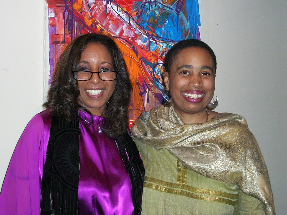 Aishah with Dr. Clara Whaley Perkins