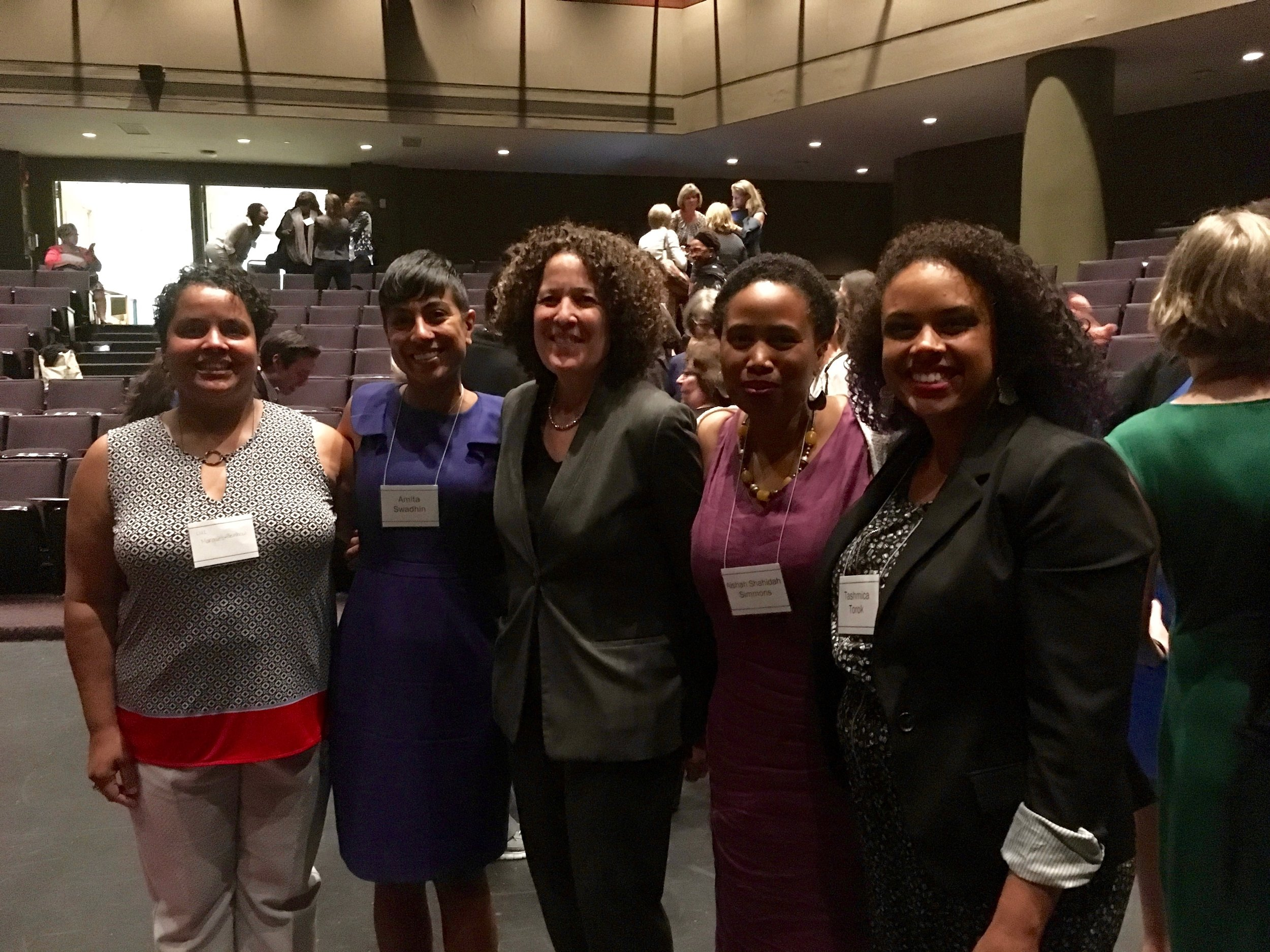 With Just Beginnings Collaborative Fellows and Ovw Director Bea Hanson at Reimagining, Reinvigorating and Moving Forward to End Sexual Assault, Domestic Violence, Dating Violence, and Stalking