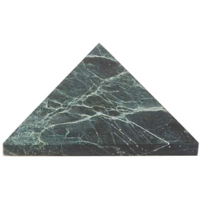 Fort Standard Triangular Marble Trivet ! Totokaelo