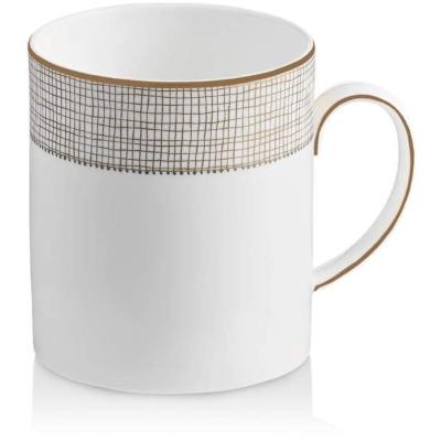 Vera Wang Wedgewood Gilded Weave Mug ! Bloomingdales