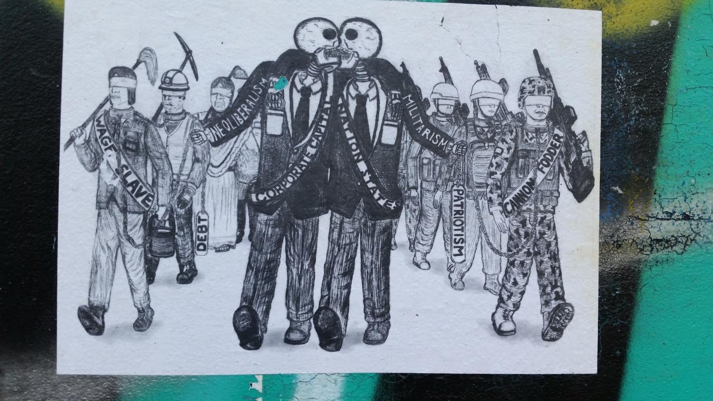 Protest Art Poste