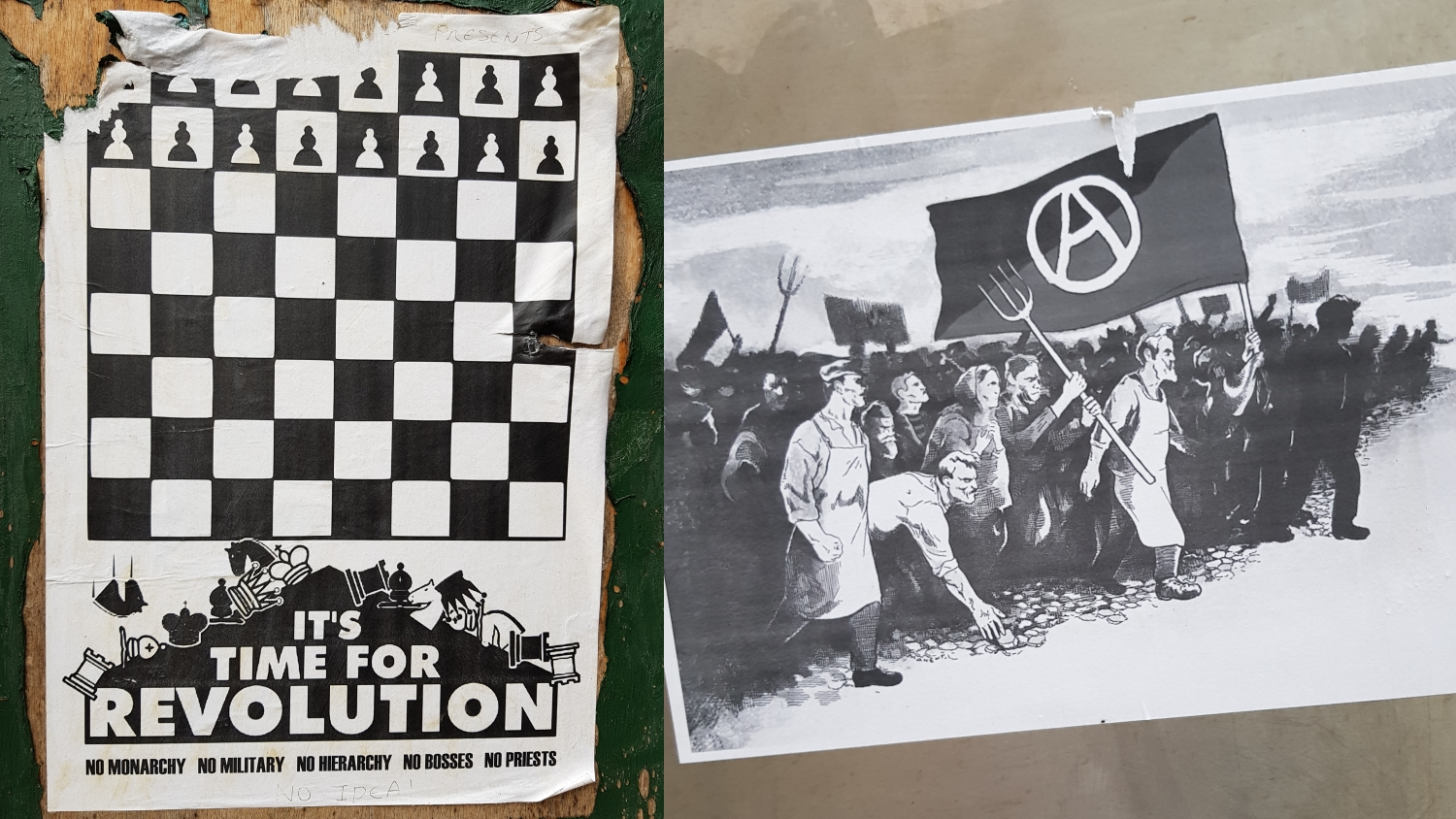Protest Art Poster