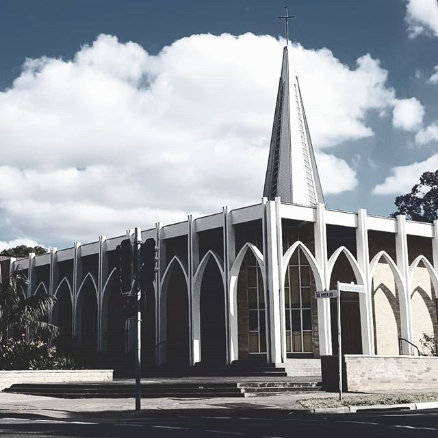 A local modernist church this time. Its easy to look at iconic #brutal_architecture in Russia, Central Asia or Eastern Europe, but they are easily found in the suburbs of Sydney if you take notice. . . . . #brutalism #brutalist #brutalarchitecture #modernism #modernist #sydney #australia #brutopolis #brutgroup #brutalistdesign #modernarchitecture  #architecture #architecturaldetail #architecture #bnw_daily #bnw_mood #bnw_captures #culturevulture #cultureredux