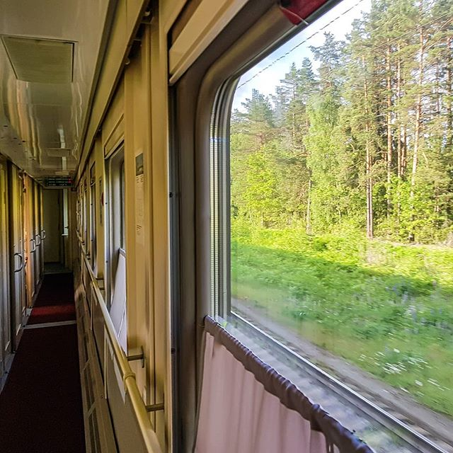 Arriving in Nizhny Novgorod in the early hours from Kazan on an old Soviet train. The nature heavy countryside is beautiful. If you like long train journeys take it during the day, but I like to try get over it & save $ on a night's accommodation so it is night only for me. . . . . . . #russia #nizhnynovgorod #nizhny_novgorod #russia🇷🇺 #russia #russiatravel #russia_pics #russian_inspiration #oldtrains #traintraveller #traintravel #travelbytrain #trainspotting #fromrussiawithlove #igersrussia #igrussia #travel #offthebeatenpath #destinationunknown #passportready #travelexperiences #traveladdict #instatravel #solotravel #slowtravel #cultureredux #solotraveller #alwaystraveling #travellife #travelholic